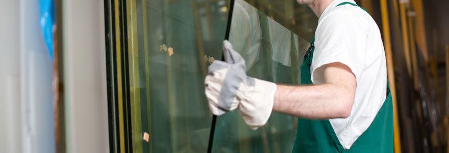 Entretien de vitrerie
